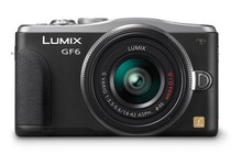 Interchangeable Lens Cameras - Panasonic Lumix DMC-GF6 14-42mm Lens Kit (Black)