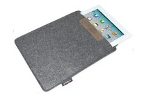 "- Felt Envelope Tablet Case - 10"" (Charcoal)"