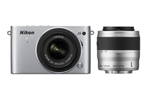  - Nikon 1 J3 10-30mm &amp; 30-110mm Twin Lens Kit (Silver)