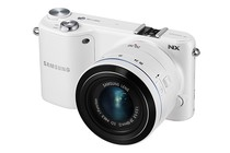 Interchangeable Lens Cameras - Samsung NX2000 SMART Camera 20-50mm Lens Kit (White)