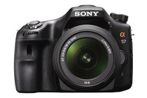 - Sony Alpha SLT-A57 18-55mm SAM Lens Kit (A57K)