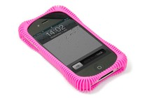 - Ribbz Protective Case for iPhone 4 & 4S (Pink)