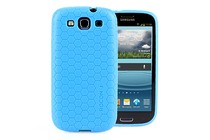 - Honeycomb Case for Galaxy S3 (Blue)