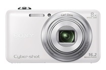 - Sony Cyber-shot WX80 Digital Camera (White)