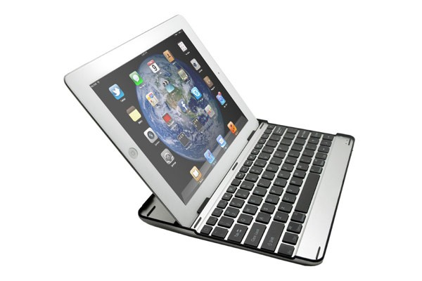 Aluminium Case with Bluetooth Keyboard for iPad