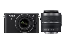 - Nikon 1 J2 with 10-30mm & 30-110mm Lens (Black)