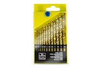 - 13 Piece HSS Metric Drill Bit Set