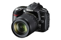 - Nikon D90 DSLR Camera Lens Kit with 18-105mm VR Lens