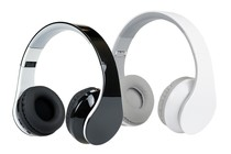 - 2 Pack Pro Urban DJ Studio Bluetooth 2.1 Headphones (Black & White)