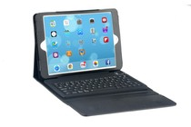 iPad Cases - Leather Look Case with Bluetooth Keyboard for iPad Air