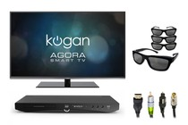 "- 47"" 3D Smart TV Home Theatre Bundle"