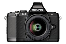 DSLR Cameras - Olympus OM-D E-M5 DSLR Camera 12-50mm Lens Kit (Black)