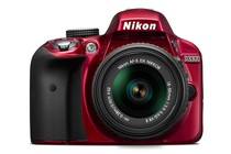 - Nikon D3300 DSLR AF-S DX NIKKOR 18-55mm f/3.5-5.6G VR II Lens Kit (Red)