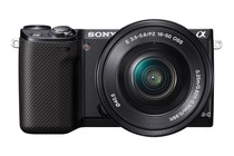 - Sony NEX-5RL 16-50mm Lens Kit