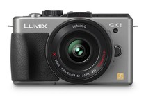 - Panasonic Lumix DMC-GX1X 14-42mm Lens Kit (Silver)
