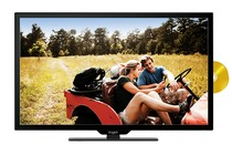 "TV Bundles - 24"" LED TV (Full HD) & DVD Player Combo + Premium HDMI Cable"