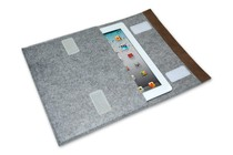 "- Felt Envelope Tablet Case - 10"" (Ash)"