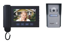 "- Doorphone Video Intercom with 7"" Colour Screen"