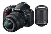 DSLR Cameras - Nikon D3100 DSLR with 18-55mm & 55-200mm VR Lens Kit