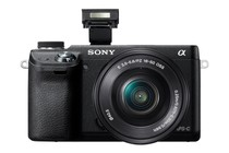 Interchangeable Lens Cameras - Sony NEX-6 16-50mm Lens Kit (Black)