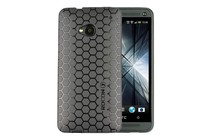 Smartphone Cases - Honeycomb Case for HTC One (Black)