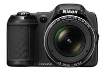 Compact Digital Cameras - Nikon Coolpix L820 (Black)