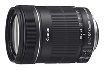 - Canon EF-S 18-135mm F3.5-5.6 IS Standard Zoom Lens