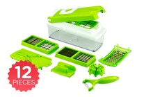 Kitchen Utensils - Multi-Purpose 12 Piece Slicer