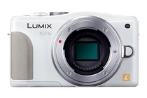 - Panasonic Lumix DMC-GF6 14-42mm Lens Kit (White)