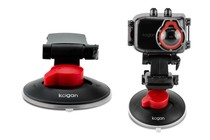 Video Cameras - Car Suction Mount for Kogan Full HD Action Camera