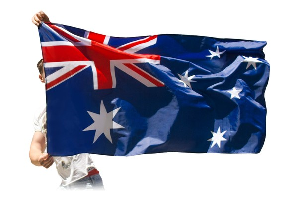 Australian Flag & Cape (2 in 1)