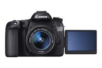 - Canon EOS 70D DSLR 18-55mm STM Lens Kit