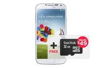 - Samsung Galaxy S4 4G LTE i9505 (16GB, White)