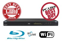 - Blu-ray Player with Wi-Fi
