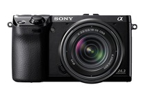 Interchangeable Lens Cameras - Sony NEX-7 18-55mm Lens Kit (Black)