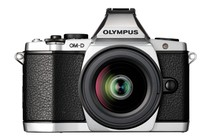 - Olympus OM-D E-M5 DSLR Camera 12-50mm Lens Kit (Silver)