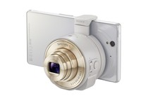 Mobile Accessories - Sony DSC-QX10 Smartphone Lens (White)