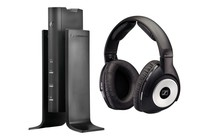 Headphones - Sennheiser RS170 On-Ear Wireless Home Cinema Headphones (Black)