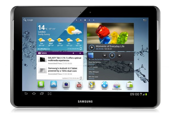 Samsung Galaxy Tab 2 10.1 P5110 (16GB, Wi-Fi, Silver)